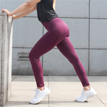 High Quality Women Butt Lift High Waisted Seamless leggings Breathable Fitness Yoga Tights Custom Sports leggings Wholesale
