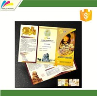 CMYK/PANTONE COLOR brochure printing service in china customized size