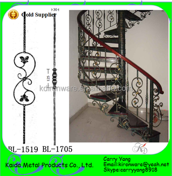 Wrought Iron Stair Parts, Wrought Iron Railing Balusters