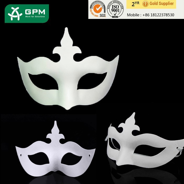 Hot selling paper cock mask with high quality