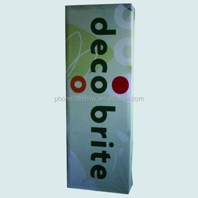 2.5ft Straight Fabric tension pop up wall display stands