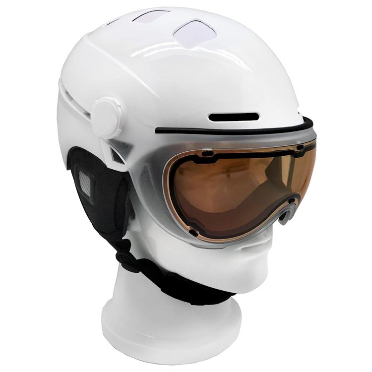 AU-S07 New Design CE Certification Snowboard Helmet Ski Sport Helmet 5