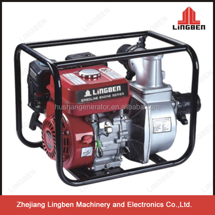 LingBen 3 Inch Gasoline Water Pumping Machine Motor Prices In India LBB80