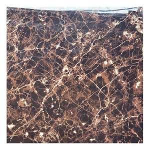 HS622GN dark brown floor glaze tile/emperador light marble