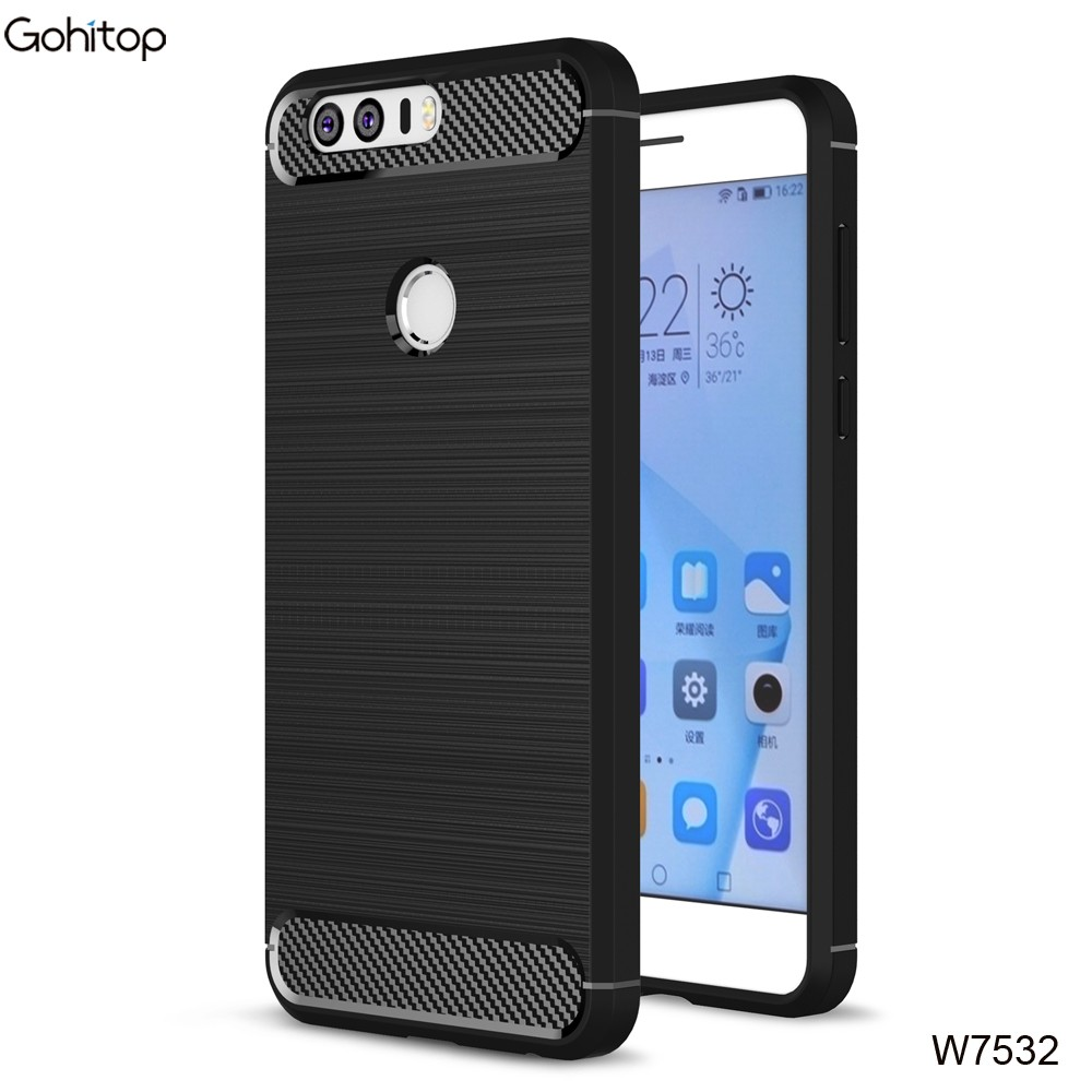 for Huawei Honor 8 Case TPU, 360 Full Cover Case for Honor 8