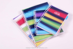 free school supplies samples a4 a5 printing Spiral Notebook
