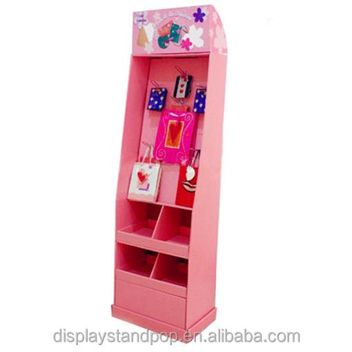 china hizo peg gancho de cartn display stand estanterias para juguetes de la promocin