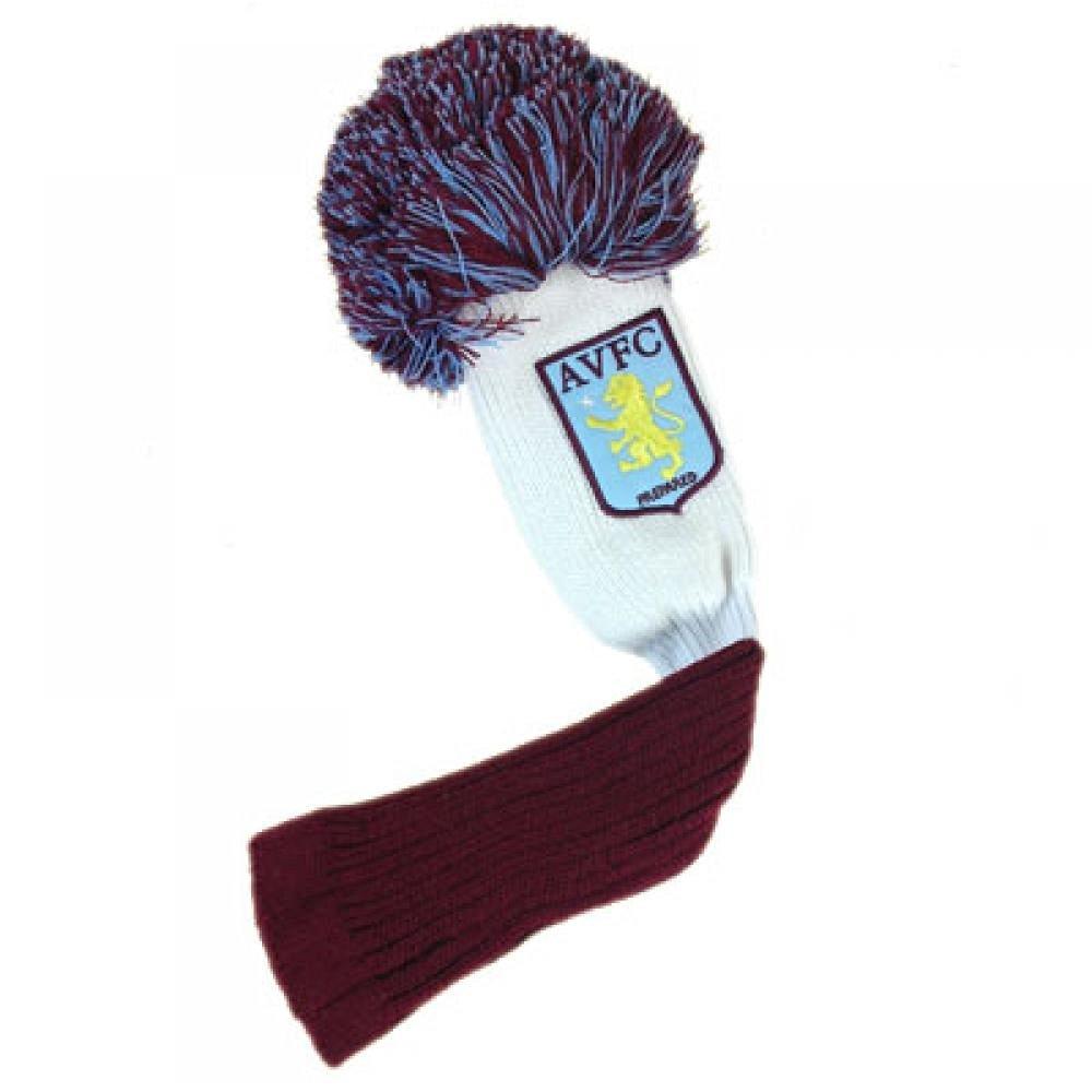 Football Gifts - Aston Villa FC Gift Ideas Official Aston Villa Fc Golf Pompom Headcover Fairway A Great Present For Football Fans