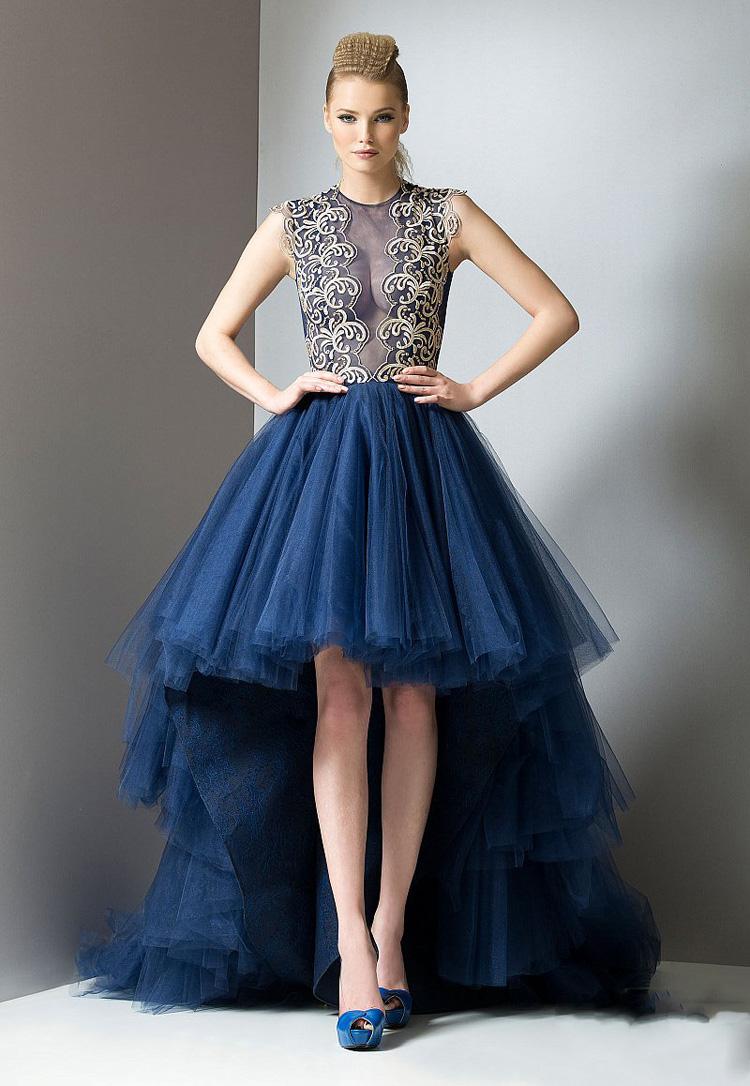 New Long Tail Prom Dresses Women Short Dresses For Wedding ...
