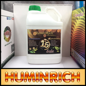 Huminrich Leonardite Humic Acid SH9002H-1 Natural Humine Mineral Liquid Bio Fertilizer