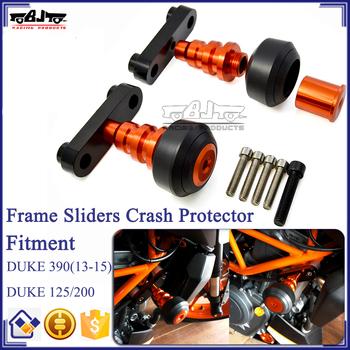 Bj-fs-kt003 Motorcycle Flank Cnc Duke 125 200 Frame Sliders Guard Crash  Protector For Ktm Duke 390 Anti Crash Protector - Buy For Ktm Frame