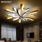 Factory Price New Arrival Modern LED Acrylic Chandelier Ceiling Lamp LED Dimming Home Decor Light MD81572