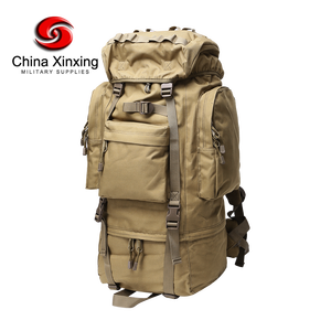 China Xinxing Multifunctional Military Tactical Big Capacity Backpack 600D Polyester for Hunting Camping TL85