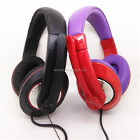 High Quality Stereo Portable Headphone For Game Headphones With Microphone