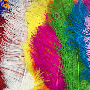 wholesale bulk artificial plumes centerpiece wedding dress fabric fringe trim ostrich feathers
