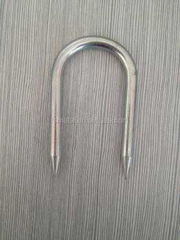 U Fence Staple/u Shaped Nail/u Nails For Sale - Buy U