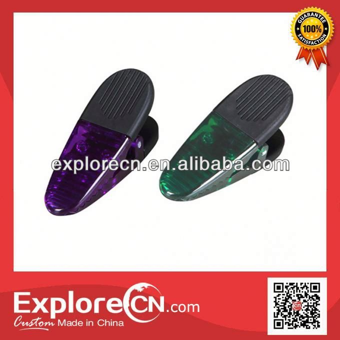 Mini popular widely plastic magnet clip