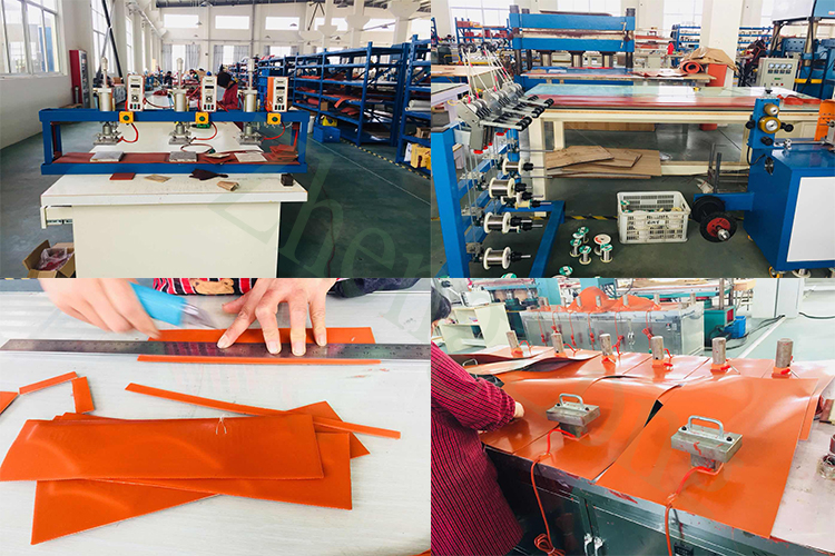 Hot selling silicone extruder verwarming tapes heater geëtste folie vel elektrische stoel pad uit China fabrikant
