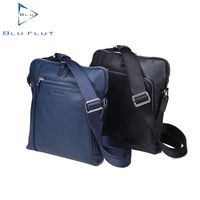 the genuine custom single men leather shoulder bag