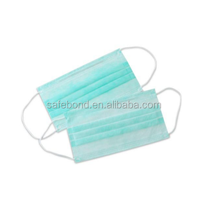 Face Mask Disposable Bacteria Filter Ear Loop Travel Kit Pink Blue Set