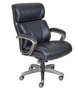 Get Quotations La Z Boy Nexus Bonded Leather Executive Chair Black