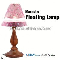 Magnetic floating lamp shade ,oil lamp shade glass