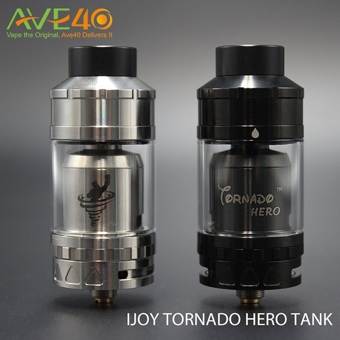 Ave40 New Coming IJOY Tornado Hero RTA & Sub Ohm Tank