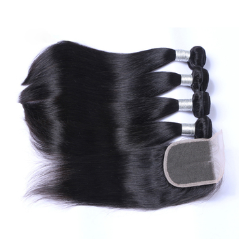 Hair vendors free sample wholesale virgin hair vendors straight hair bundles with lace closure