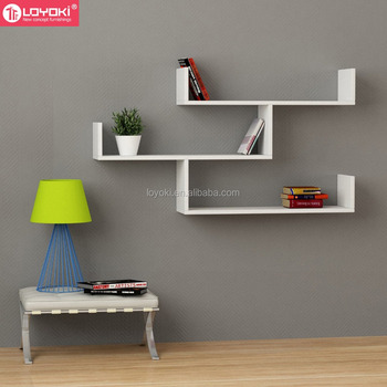 buy online 5692e 4292e 3 Tier Wooden Wall Rack Wholesale Hanging Wall Shelving For Home Wall Art  Decor Floating Shelf - Buy Floating Shelf,U Shelf,Wall Shelving Product on  ...
