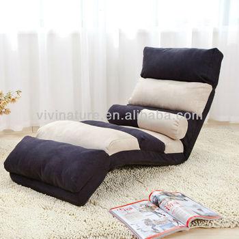 Home Comfortable Relax Portable Legless Lie Single Sofa