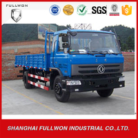 Single row seat cab 4*2 8 ton Dongfeng mini cargo truck for sale