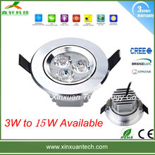 3w led recessed ceiling downlight CE ROHS