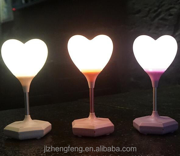 Led Creative Touch Induction Usb Charging Heart Shaped Night Light   Buy  Led Light,Led Night Light,Led Small Night Light Product On Alibaba.com