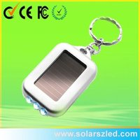 solar panel key ring, solar led key chain, manufacturer from China