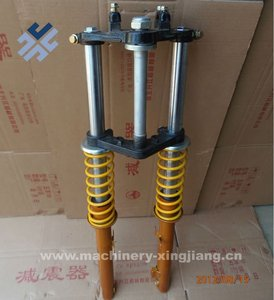 Aluminum Inner and Outer Spring Shock Absorber For Electric Bicycle