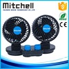 New ABS environmental with switch fine workmanship car 4.5inch double headed fan