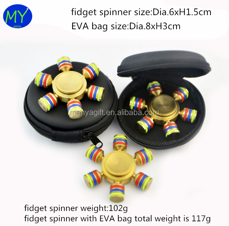 New brand 2017 new high quality hand fidget spinner toys from china famous supplier