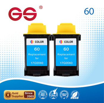 Remanufactured Tri Color Ink Cartridge LM60 60 90 For Lexmark Printers
