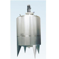 Stainless Steel Caustic Soda Chemical Shampoo Mixing And Storage Tank Innovative Machine Three Jackets