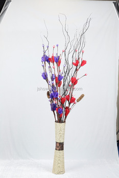 Wholesale Artificial Dried Flowers Artificial Handmade Dried Rose ...
