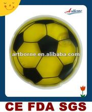 Artborne Yellow Football Shaped Heat Cold Pack13x13cm/hot selling products for 2012(Manufacturer with CE/FDA/SGS/MSDS/ISO13485)