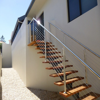 Prima prefabricated exterior stairs metal aluminum steel for Escalera exterior prefabricada de metal