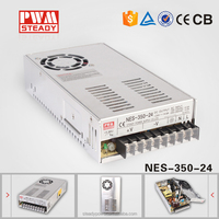 350w NES-350-24 220vac to 24vdc Switching Power Supply for cctv cameras
