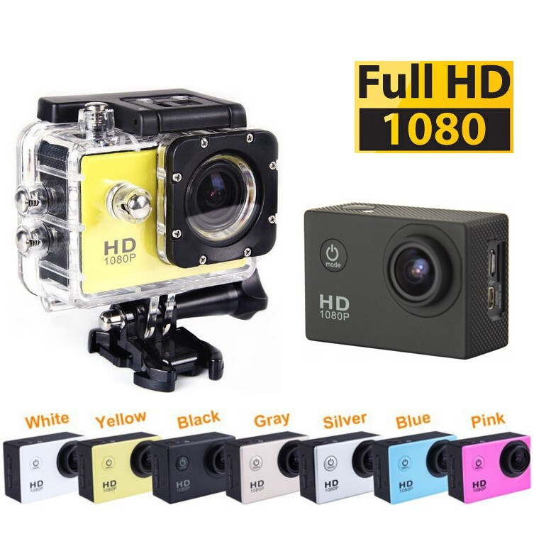 Latest 30m waterproof sport camera,mini dv sport camera For Bike/Motorbike/Skiing outdoor sports