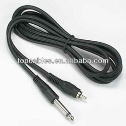 rca to trs mono video cable