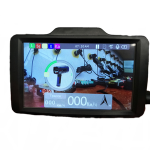 4 inch 1920P Combo gps radar detector hidden dvr video car speed recorder