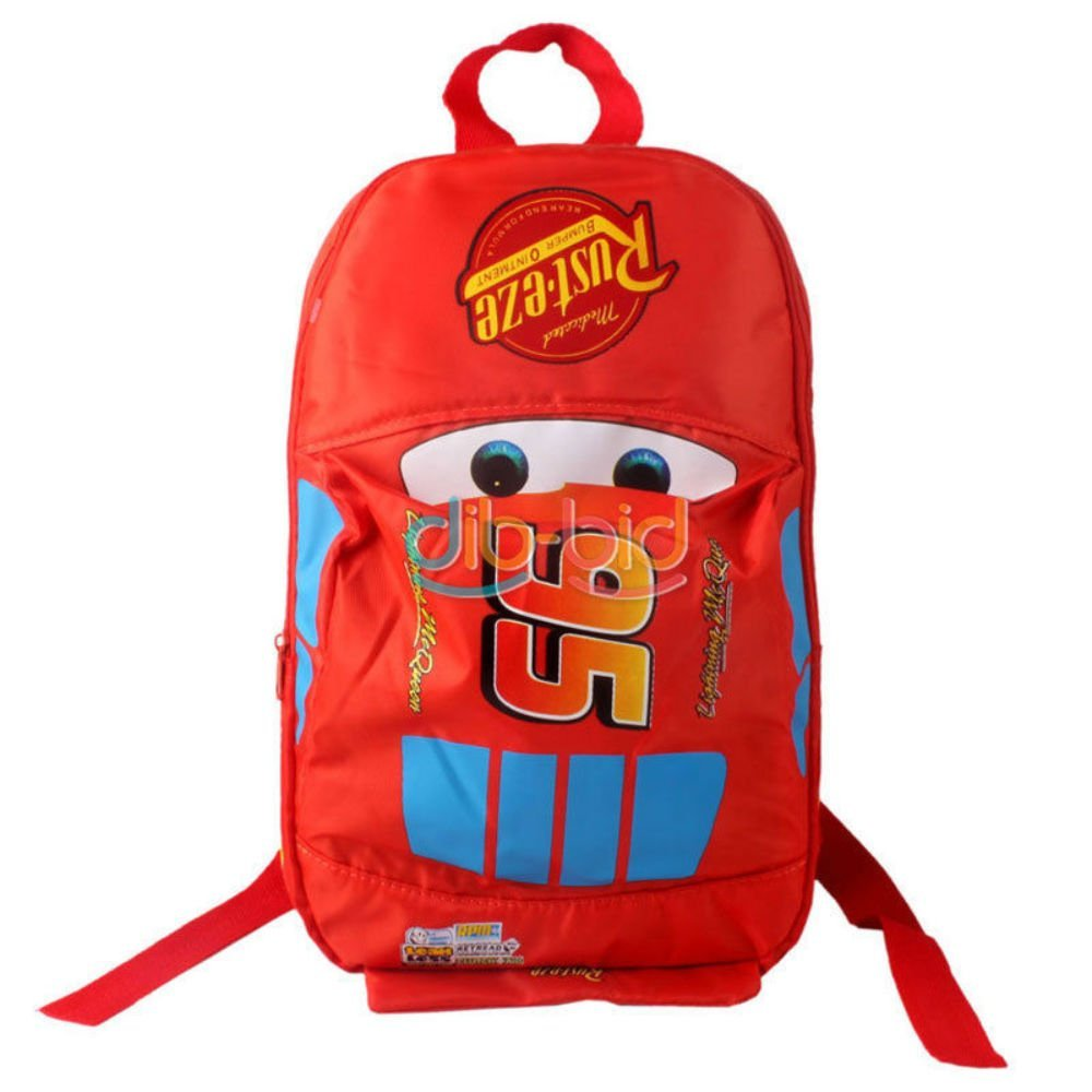 03c2bd37f6d Stylish Cars School Bag For Red Lightning McQueen Pixar Backpack Kids Child  SS
