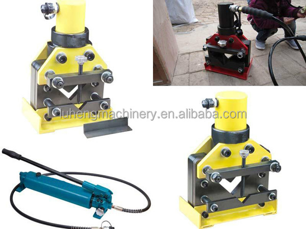 Supplier reinforced portable angle iron cutter