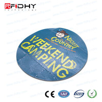 provide printing serial number 18000-6C UHF RFID windshield tag for car identification