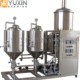 electric micro compact automated brewing system with movable wheels